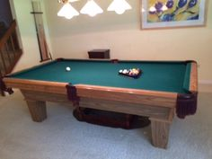 Vitallie Sterling Billiards Solid Wood Used Pool Tables For - Steepleton pool table