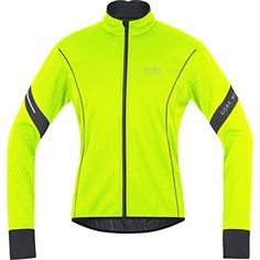 Men's Cycling Jackets - Gore Bike Wear Mens Power 20 Soft Shell Jacket ** More info could be found at the image url. Neon Yellow, Yellow Black, Mens Outdoor Clothing, Cycling Clothing, Bike Wear, Cycling Outfit, Men's Cycling, Wearable Technology, Cool Bicycles