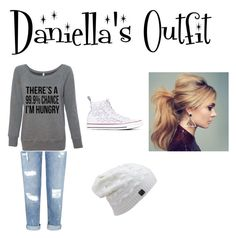 """""""Daniella's Outfit"""" by darlenebell24 on Polyvore featuring Miss Selfridge and Converse"""