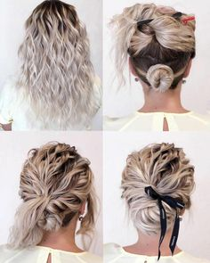 Gorgeous and Easy Hairstyles Tutorial For women with medium shoulder length to long hair. These hairstyles are great for any occasion whether you just want quick and casual or simple yet elegant wedding hairstyles ,prom hair, Braided hairstyles,Hair cuts Up Dos For Medium Hair, Medium Hair Styles, Curly Hair Styles, Natural Hair Styles, Medium Hair Updo Easy, Simple Hairstyles For Medium Hair, Box Braids Hairstyles, Pretty Hairstyles, Wedding Hairstyles