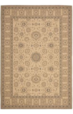 Safavieh Courtyard CY6126 Natural Gold Rug | Traditional Rugs