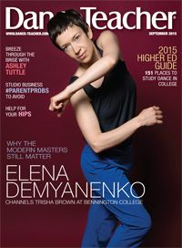 Check out our September 2015 issue, featuring cover-star Elena Demyanenko.
