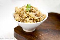 Clean Eating Skillet Rice Pilaf