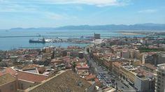 #Cagliari dalla Torre dell'Elefante  #maperti14
