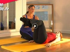 Joseph Pilates introduced and developed a special fitness program which is now known as Pilates system. Pilates Videos, Videos Yoga, Yoga Pilates, Yoga Gym, Pilates Workout, Workout Videos, Gym Workouts, Tabata, Fitness Logo