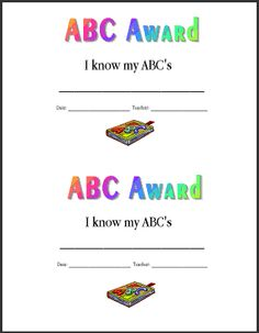 Pin by Sweet Blessings on Forms | Pinterest | Preschool ...