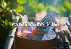 Learn to play ukelele