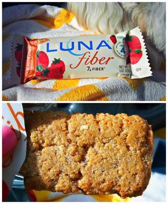 """Luna Fiber bar snack. """"These are by far my favorite out of all the protein, fiber, or breakfast bars. If a muffin and a pop tart had a baby, it would be this bar! They are only 110 calories, too."""""""