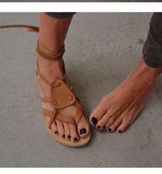 VALIA GABRIEL, love her sandals!
