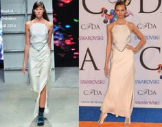 Karlie Kloss In Band of Outsiders - CFDA Fashion Awards. Re-tweet and favorite it here: https://twitter.com/MyFashBlog/status/473691348164296705/photo/1