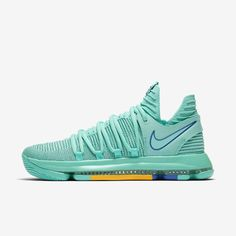 buy online 4ccf6 a768a Nike Zoom KD 10 The Bay Edition Chapter (Hyper Turquoise  Total Crimson   Black  Racer Blue)