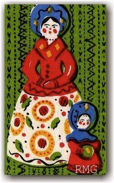 Soviet toy box illustration
