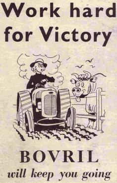 World war two ad for Bovril
