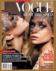 Mary-Kate and Ashley Olsen cover Vogue