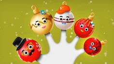 Watch and enjoy Baby Finger Song, Finger Family Song, Family Songs, Kids Songs, Christmas Balls, Christmas Ornaments, Cake Pop, Nursery Rhymes, Watch