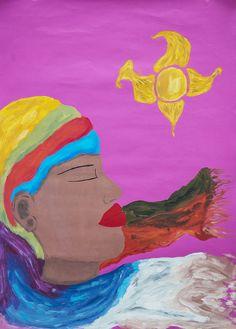 Ella es fuego y agua https://www.behance.net/gallery/9022931/Ilustraciones-varias