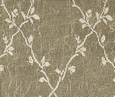 Detail of our Kensie pattern lace fabric.