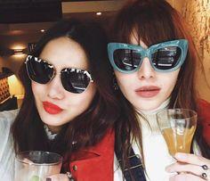 16229fb252 Dylana Suarez and Natalie Suarez in Sonix Sunnies Sunnies Sunglasses