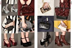 #PRECOLLECTIONS A/W 15/16 #SHOES & #BAGS #Fashion #Magazine