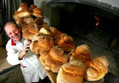 """This is what I call """"real bread"""". Bread from Altamura, Puglia - South Italy."""