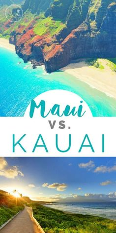 Maui vs Kauai: How to Plan Your Hawaii Vacation + travel tips to make it the best experience. hawaii travel tips for beach vacation ideas Honeymoon Vacations, Hawaii Honeymoon, Maui Vacation, Dream Vacations, Vacation Spots, Vacation Travel, Vacation Ideas, Greece Vacation, Vacation Places