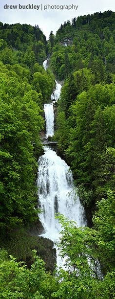 Giessbach Falls - Switzerland #travel #places #spaces #photography