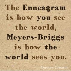 The difference betwe The difference between the enneagram and the Meyers Briggs personality tests how you see the world how the world sees you Enneagram Type One, Enneagram Types, Personality Psychology, Infp Personality, Different Personality Types, Psychology Quotes, Thing 1, Meyers Briggs Personality Test, Pseudo Science