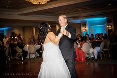 OLDE MILL INN WEDDING PHOTOS : Father/daughter dance | Love how the happiness of the day shines in this photo