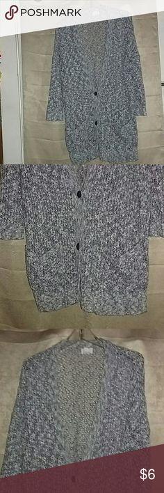 Caslon Long Pocketed Sweater Coat Has two pockets 70% cotton 30% acrylic Caslon Jackets & Coats
