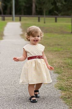 The Caroline Party Dress | The best sewing patterns for women, girls, toys and more. Go To Patterns & Co.