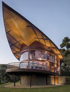 Villa Design, House Design, Bamboo Architecture, Architecture Design, Jungle House, Tropical Design, Master Plan, Vacation Villas, Pavilion
