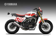Yamaha XSR 900 Dirtiest Son Liveries by Oberdan Bezzi