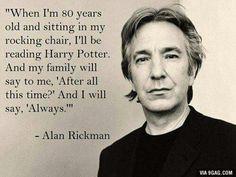 Alan Rickman/Harry Potter