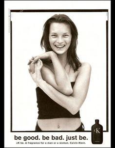 Égérie  Calvin Klein le parfum CK be