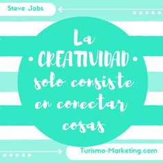 Gran frase de #SteveJobs para CREAR un súper fin de semana  #creatividad #publicidad #marketing #marketingdigital #marketingonline #marketingquote #quote #quoteoftheday #socialmedia #socialmediamarketing #redessociales