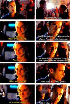 """Book """"Drunk Four"""" Scene ~Divergent~ ~Insurgent~ ~Allegiant~"""