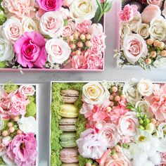 Luxury flower box. Perfect gift 👌🏼 WildRose flowers creative florist in Vancouver. Weddings, events, bouquets, flower boxes and arrangements.