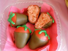 Strawberry cake-balls. I was a volunteer baker for Bake for Hope. I donated my baked creations to help raise money for our local Susan G Komen chapter!