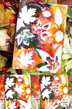 The perfect nature art and craft for kids this Autumn - Autumn Leaf Painting! Head outside, gather some leaves and start colour mixing to create gorgeous Autumn shades. Ideal for toddlers, preschoolers and beyond kids crafts toddlers Autumn Leaf Painting Bee Crafts For Kids, Preschool Crafts, Children Crafts, Kids Diy, Easter Crafts, Preschool Classroom, Kids Nature Crafts, Fall Crafts For Preschoolers, Arts And Crafts