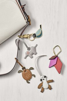 Elephant, turtle, sloth oh my! We've got the cutest animal bag charms that make the ultimate gift.