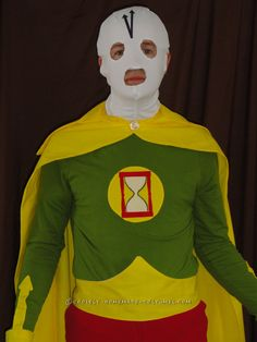 Chronos DC Comics Villain Cosplay Costume... Coolest Halloween Costume Contest