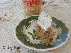 #Φανουρόπιτα με ενημέρωση της συνταγής, με ακόμη μία νέα συνταγή.  http://www.kopiaste.info/?p=5006 #Fanouropita, a Greek vegan cake made when St. Fanourios reveals lost objects or make things you wish happen!  Updated new recipe. http://www.kopiaste.org/2010/08/my-take-on-fanouropita-with-tahini-vegan-cake/