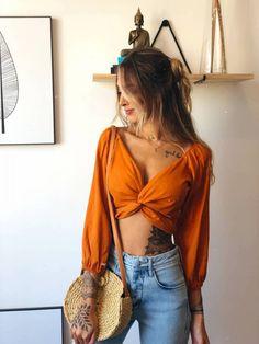 Blusa Nina Amarrações - todas as cores! - LF Comprinhas #blusas Blusa Nina Amarração