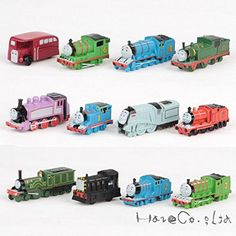 Thomas & Friends Mini Figures Trains and Coal Car Gift toy Set 12PCS >>> For more information, visit image link.