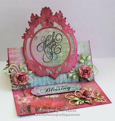 Designs by Marisa: JustRite Papercraft December Release - Grand Thank You Cling Stamps