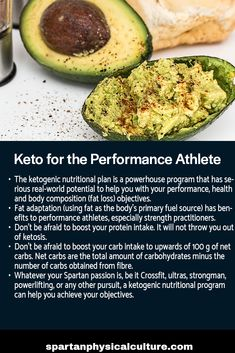 Learn how the ketogenic nutritional plan is a powerhouse program to help you with your performance, health and body composition objectives. Nutrition Guide, Nutrition Plans, Body Composition, Avocado Egg, Physical Fitness, Ketogenic Diet, Breakfast, Health, Rats