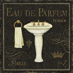 Bain De Luxe III Print by Daphne Brissonnet at eu.art.com