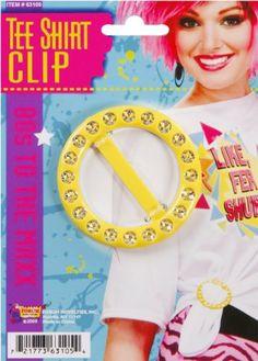 Amazon.com: Women's 80s Style T-Shirt Clip: Clothing