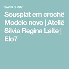Sousplat em crochê Modelo novo | Ateliê Silvia Regina Leite | Elo7