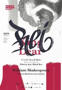 Rei Lear by Atelier Martino&Jaña, calligraphy by Xesta